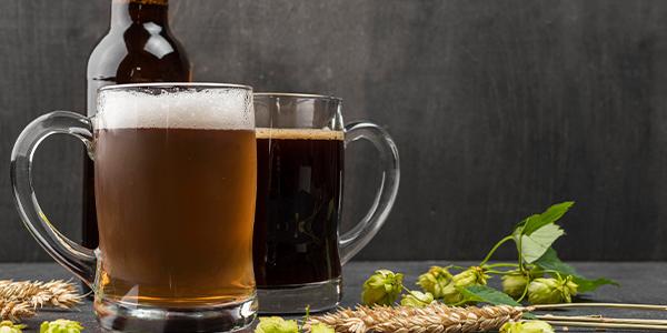 Getränkekarte Biere