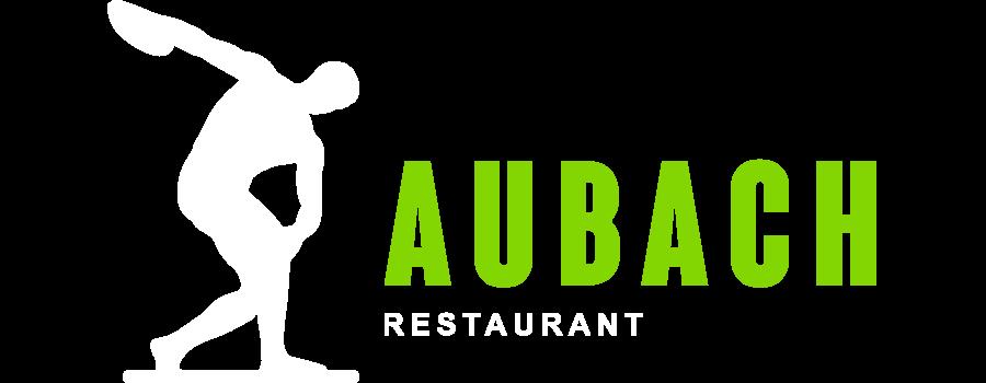 Restaurant Aubach - Logo Querformat